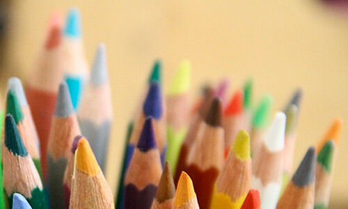 Diseño Gráfico - Lapices de colores